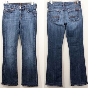 7 For All Mankind Bootcut Jeans Women's 7FAM